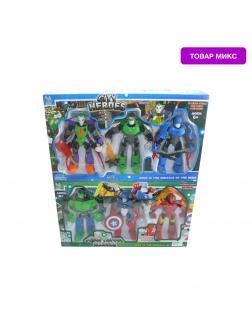 Набор фигурок «Роботы Супергерои» 1247481, 3 шт / Микс