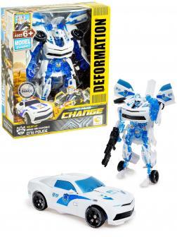 Робот-трансформер «City Police» 611-27 / Model Classic