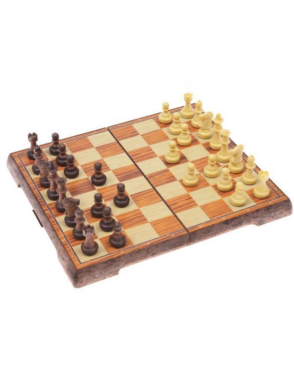 Настольная игра Tongde «Классические шахматы» на магнитной доске 25х21.5 см / T74-D389