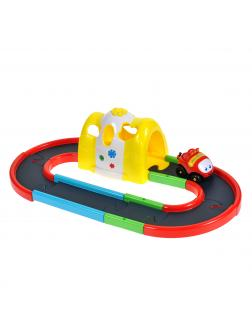 Детский игровой набор супер-трек «Туннель» со звуковыми и световыми эффектами и с машинкой на батарейках / 925856R