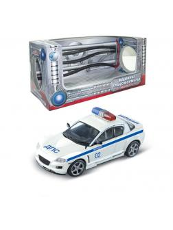 Металлическая полицейская машина-трансформер 1:24 «ДПС» / 493639R