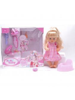 Интерактивная кукла Baby Toby «Красивые прически» 40 см T4901 / 7 аксессуаров и 10 функций