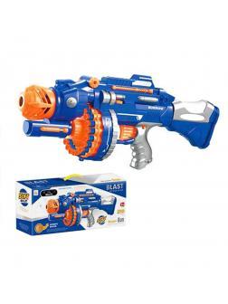 Игр.набор Стрелок, в комплекте: бластер, мягкие пули 40шт., мишень, эл.пит.АА*6шт.не вх.в комплект