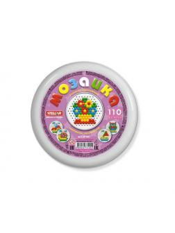 Мозаика STELLAR круглая, d13мм, 110 деталей