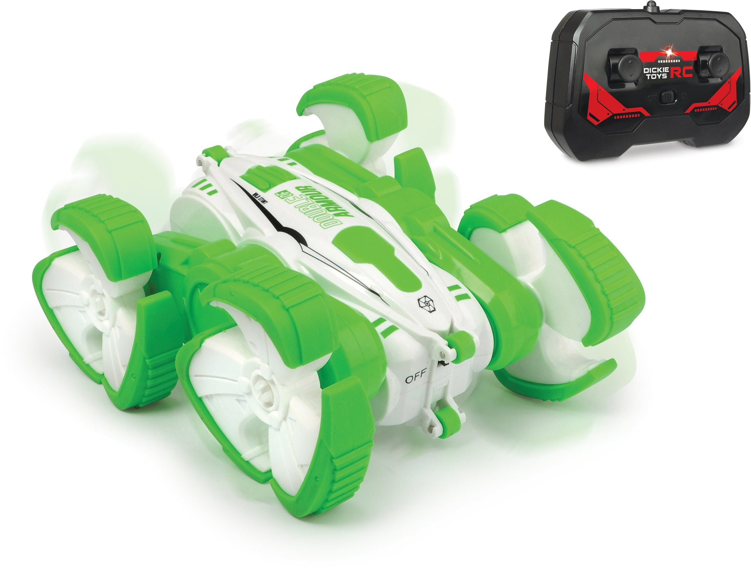 Радиоуправляемая машина-перевертыш «Storm Stunt Double of Armour» DC098A / зеленый