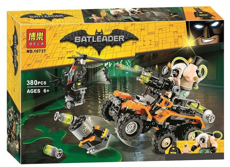 Конструктор Bl «Химическая атака Бэйна» 10737 (Batman 70914) / 380 деталей