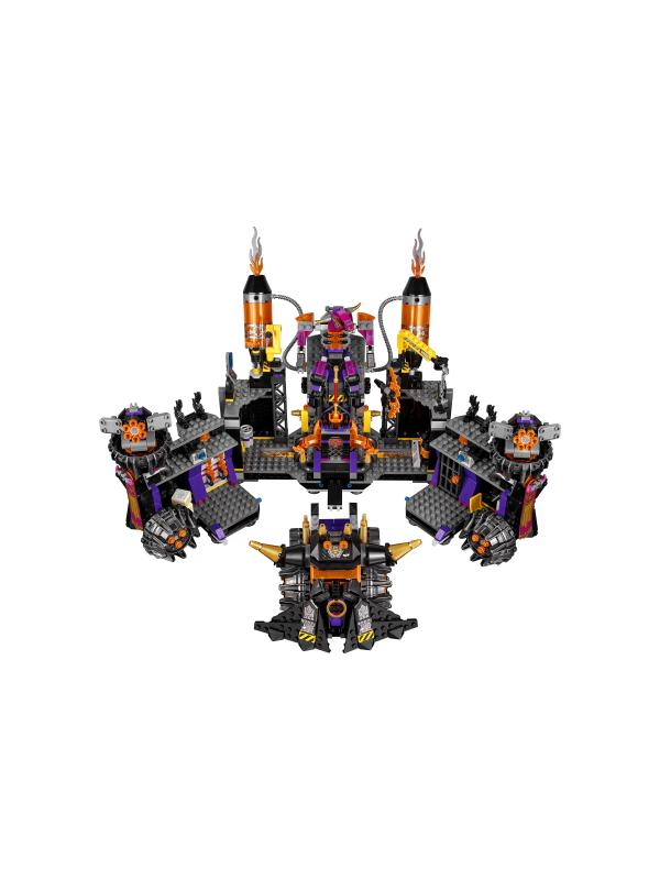 Конструктор Lari «Огненная кузница» 11576 (Манки Кид 80016) / 1467 деталей