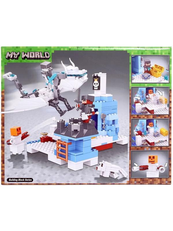 Конструктор Lari «Снежный дракон» 11266 Minecraft / 365 детали