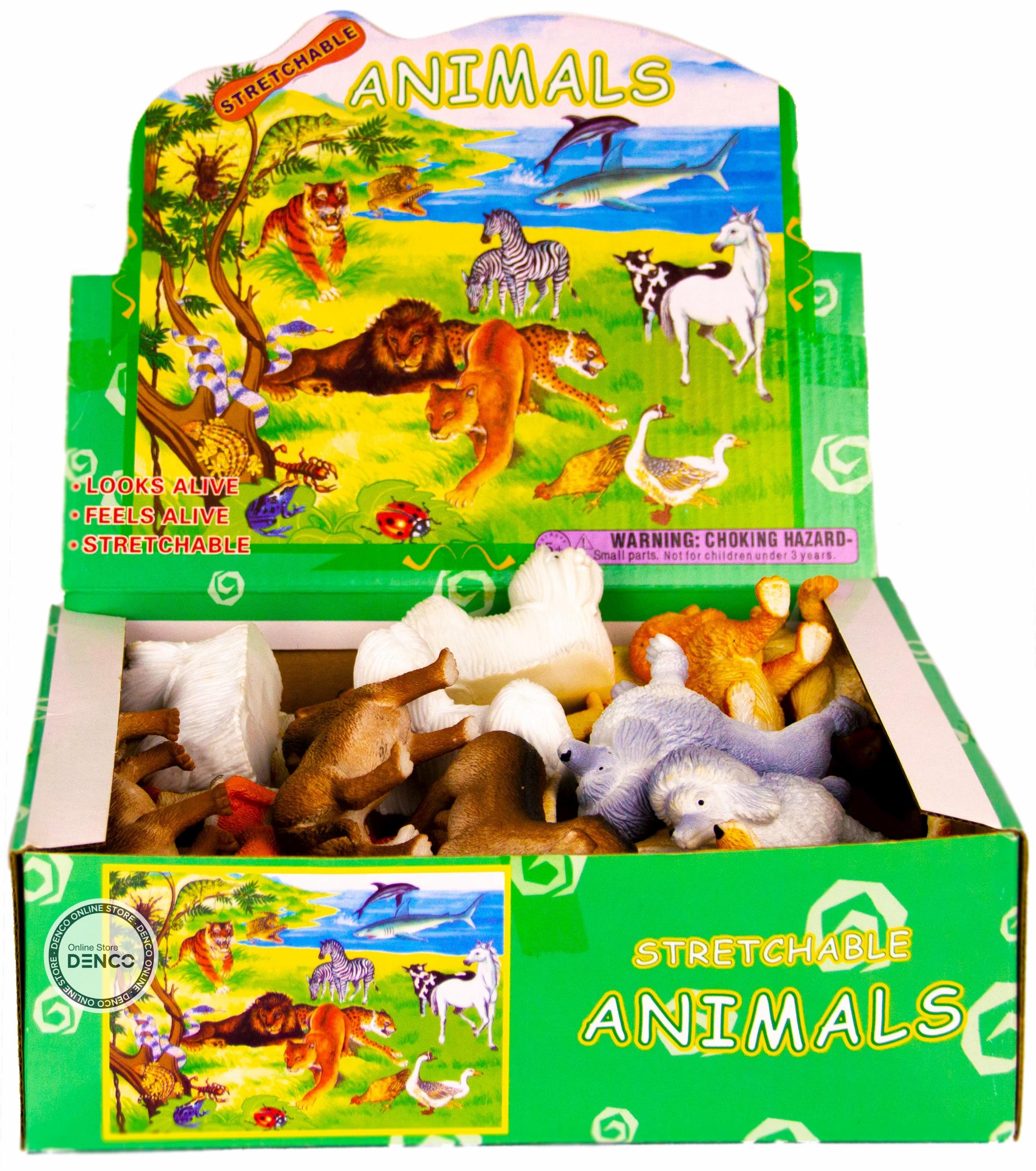 Резиновые фигурки-тянучки «Собаки» A054P, 5 см. / 6 штук