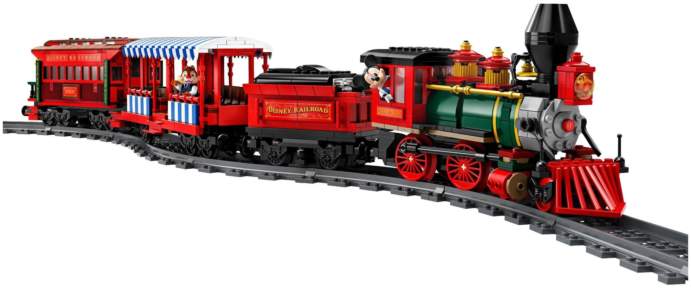 Конструктор Lari «Железная дорога Уолта Диснея» 11442 (Disney 71044), на радиоуправлении / 3019 детали