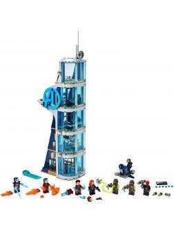 Конструктор Lari «Битва за башню Мстителей» 11564 (Super Heroes 76166) / 727 деталей