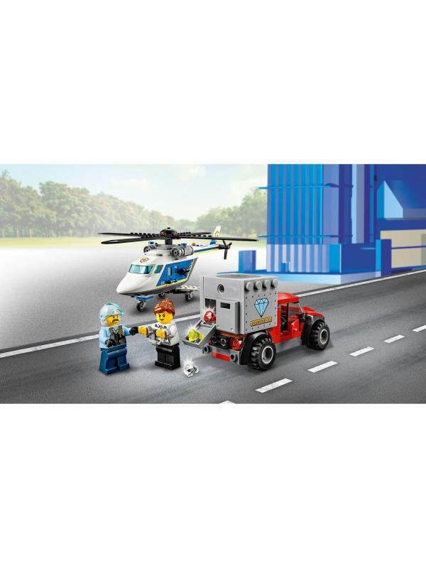 Конструктор «Погоня на полицейском вертолете» 11529 (City 60243) / 236  деталей