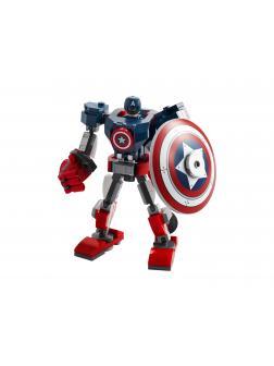 Конструктор Lari «Капитан Америка робот» 11632 (Super Heroes 76168) 127 деталей