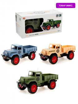 Радиоуправляемый грузовик «Военный» 27 MGz 111-1А / Микс