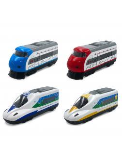 Поезд инерционный 1:34 «Sonic Train» 12 см., 5370SL свет, звук / Микс