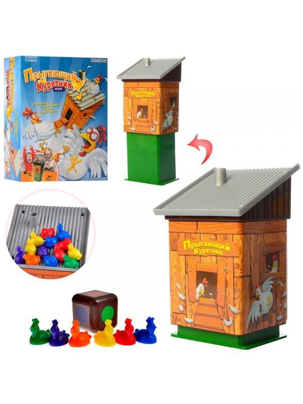 Детская настольная игра «Прыгающий курятник» 2-4 игрока / 1249-2