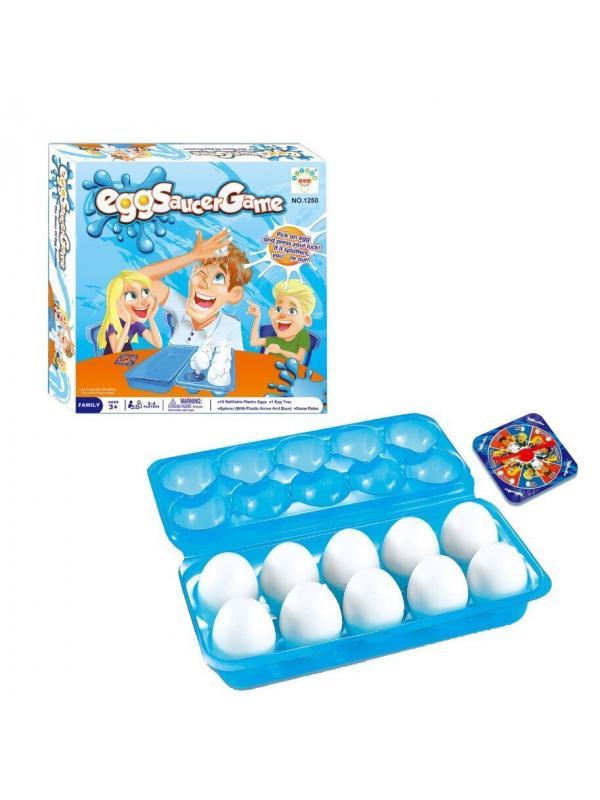 Детская настольная игра «Яичная рулетка» 2-4 игрока / 1250-2
