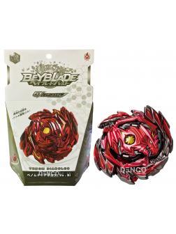 Правосторонний Волчок Веном Диаболос Красный (Venom Diabolost) B-145-01 от Flame с запускателем