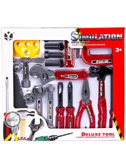 Игровой набор инструментов «Мастер-строитель» 611B, Simulation Deluxe tool