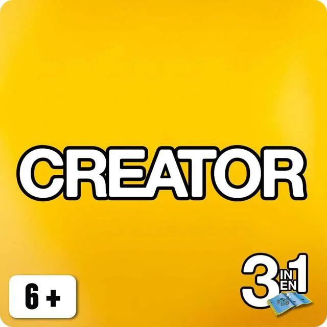 Конструкторы Креатор 3 в 1