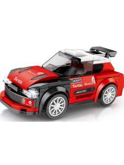 Конструктор Sembo Block «Гоночная машина: Citroen C3» 607039 / 173 детали