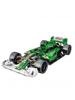 Конструктор MORK 1:14 «Зеленый Jaguar R5 F1» 023008 / 1099 деталей
