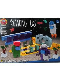 Конструктор «Among Us Амонг Ас Модуль 6» 82291-2 / 190 деталей