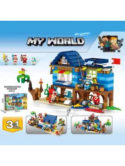 Конструктор «My World» MG299 Minecraft / 377 деталей