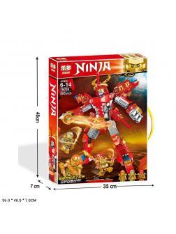 Конструктор Leduo «Красный робот ниндзя» 76059 (НиндзяГо) / 585 деталей