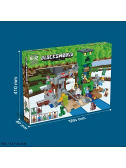 Конструктор «My World» 162 (Minecraft) 1014 деталей