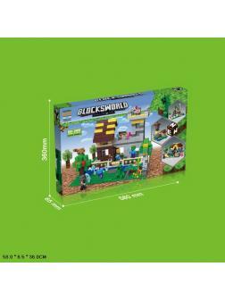 Конструктор «My World» 159 (Minecraft) 764 детали