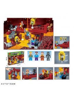 Конструктор «My World» 3D156 Minecraft / 423 детали