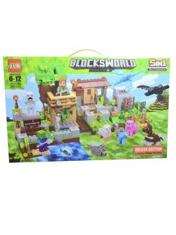 Конструктор «My World» 3D154 Minecraft / 586 деталей