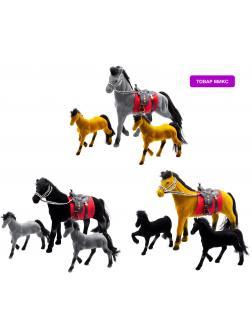 Детский кукольный набор игрушечных фигурок-лошадок Play Smart «Сивка-бурка» 2540, для девочек,  22 см. / Микс