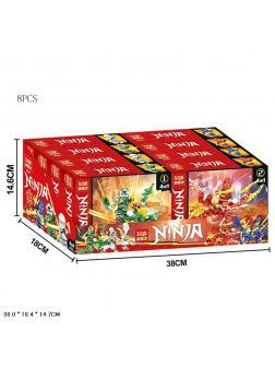 Конструктор «Ninja» 83005 (НиндзяГо) комплект 4 шт.