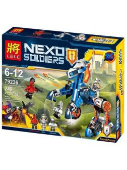 Конструктор Нексо Найтс «Ланс и его механический конь» 79236 (70312), 249 деталей