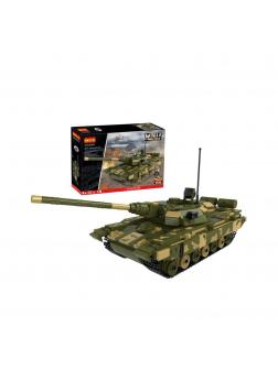 Конструктор Cogo «Танк Т-90» 1:25 Г3384 / 780 деталей