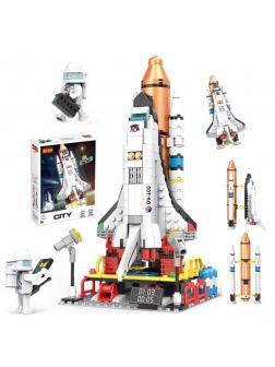 Конструктор Cogo «Космический шаттл» Г4421 / 404 деталей