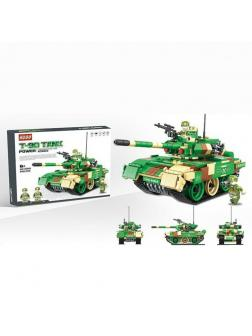 Конструктор Kugo «Танк Т90» KG602 / 636 деталей