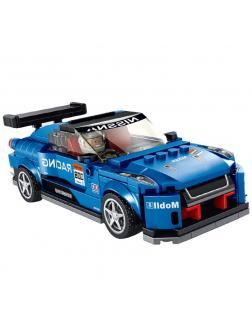 Конструктор Panlos Brick «Nissan GT-R NISMO» 666008 / 321 деталь