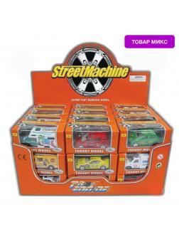 Набор металлических машинок Street Machine «Спецслужбы / Городcкие службы» АРТ601 / Микс