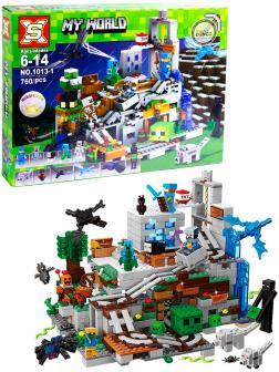 Конструктор SX «Горная пещера» 1013-1 Minecraft / 760 деталей