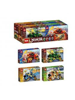Конструктор «Ninja» A8111 (НиндзяГо) / комплект 4 шт.