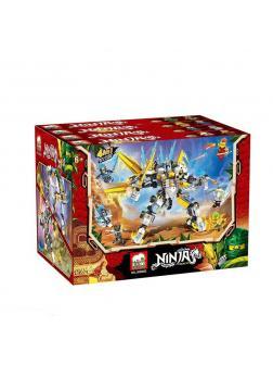 Конструктор «Ninja» JX80083 (НиндзяГо) / комплект 4 шт.
