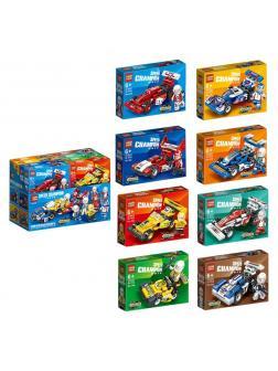 Конструктор «Speed Car» 8948 (Speed Champions) / набор 8 штук