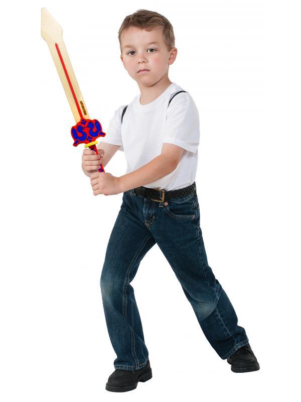 Детский деревянный меч «DRAGONBLADE» 60 см. / Желтый