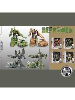 Трансформер «Военный робот Deformed» Legion Dispatch 339-85 / Микс