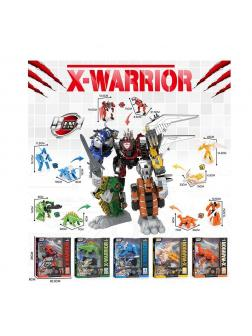 Трансформер «Робот-животное.X-Warrior» HF9989-5 / Микс