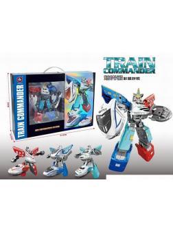 Робот-Трансформер «Train Commander» HD38