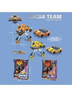Робот-Трансформер «Bumblebee» Cocoa Team 188-213Y / Микс